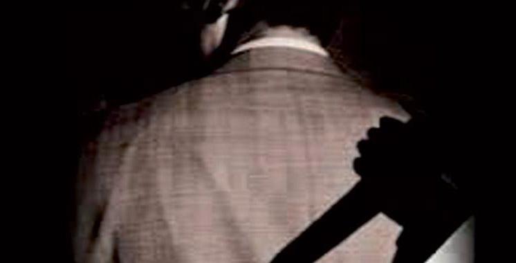 Un agent d'autorité agressé à l'arme blanche