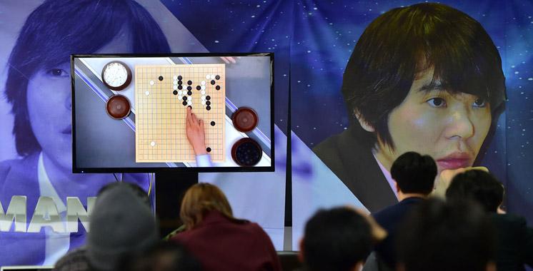Un robot de google triomphe sur l'intelligence humaine lors d'une partie de Go