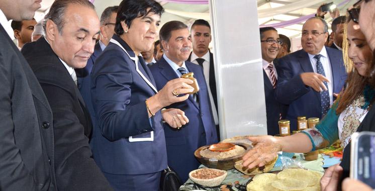 Les produits du terroir en exhibition à Tafraout