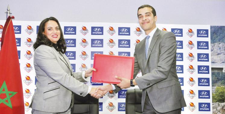 Partenariat: Hyundai Maroc et TIBU s'associent pour promouvoir le basket-ball