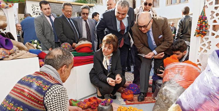 Deux conventions pour valoriser l artisan marocain for Maison de l artisan