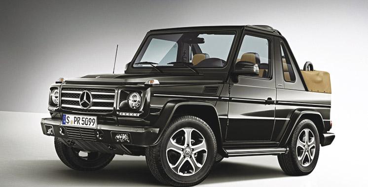 mercedes un suv cabriolet pour bient t aujourd 39 hui le maroc. Black Bedroom Furniture Sets. Home Design Ideas