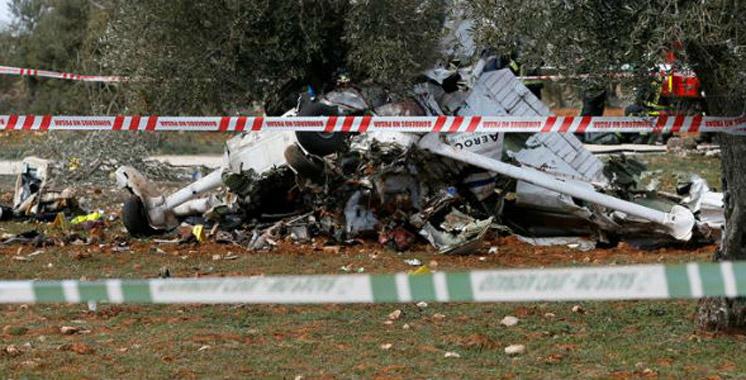 Espagne : Deux morts dans le crash d'un avion de tourisme