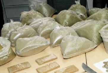 Casablanca : Saisie de plus de 35 kg de haschich et de cannabis