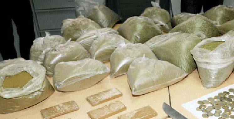 Drogue : Saisie de cocaïne, héroïne,  ecstasy et Rivotril à Casablanca et Tanger