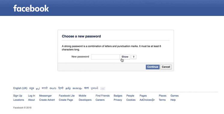 Facebook: un indien pouvait pirater n'importe quel compte !