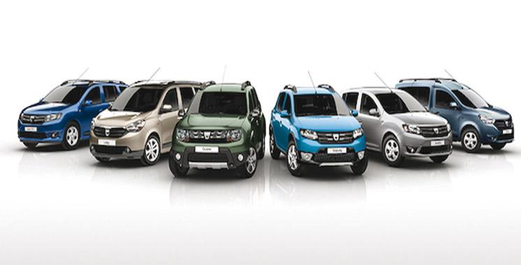 La gamme Dacia restylée  en 2017