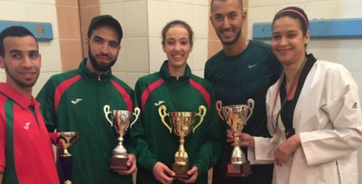 Taekwondo : Médaille d'or pour la marocaine Hakima Maslahi
