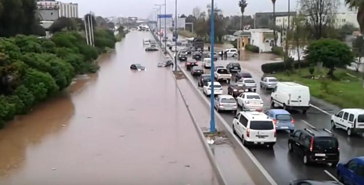 Autoroute Casablanca: Un bassin d'orage pour prévenir les inondations