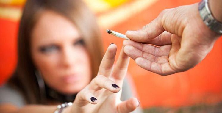 Un lycéen sur 10 a touché au cannabis