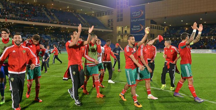 Classement FIFA : L'équipe du Maroc gagne 17 places