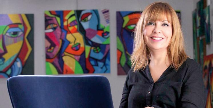 Nadia Chellaoui offre un voyage au centre culturel de l'Agdal