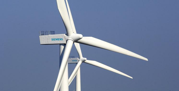 Siemens a son usine de pales d'éoliennes au Maroc