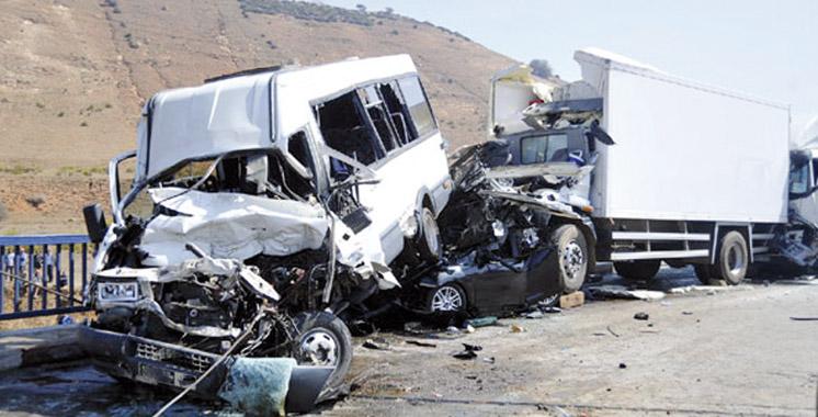 Accidents de la circulation en périmètre urbain : 11 morts et 1.749 blessés en une semaine