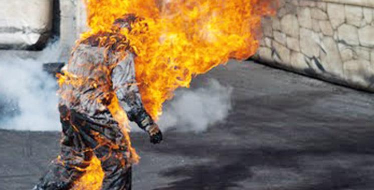 Rabat : Un jeune s'immole par le feu dans le bureau d'un directeur de lycée