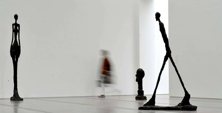 Musée Mohammed VI d'art moderne et contemporain: Focus sur l'œuvre du célèbre artiste Alberto Giacometti