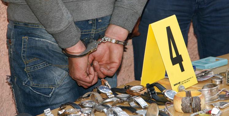 Casablanca : Arrestation de 6 personnes, dont un policier pour vol qualifié