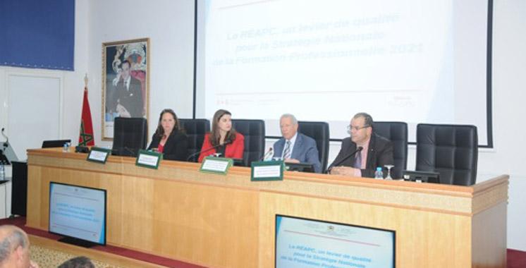 Formation professionnelle: Le REAPC, base essentielle de la stratégie nationale 2021