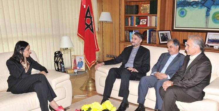 Le vice-ministre iranien des Affaires étrangères en visite au Maroc