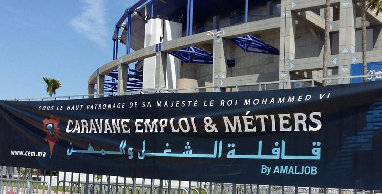Après Agadir, Marrakech et Fès: La Caravane emploi et métiers 2016 a fait escale à Tanger