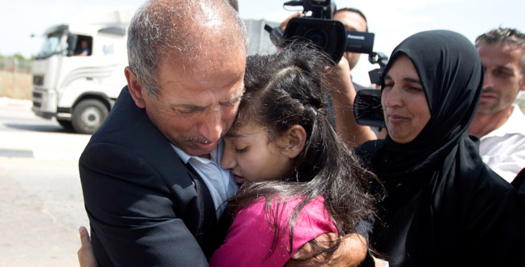 La plus jeune détenue palestinienne vient d'être libérée