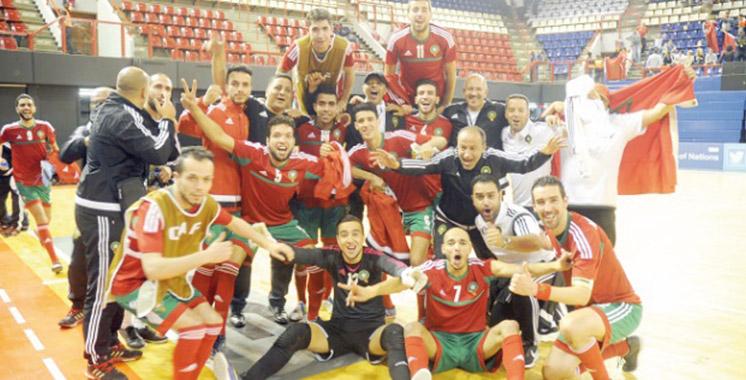 Futsal CAN-2016: Le Maroc sur le toit  du continent