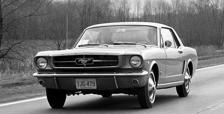 Ford Mustang : Les premiers balbutiements…