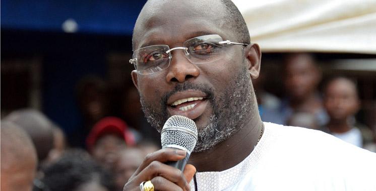 Liberia : L'ex-Ballon d'or George Weah officiellement candidat à la présidentielle