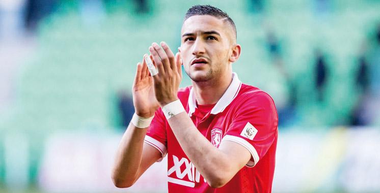Hakim Ziyech dans le viseur du Barça