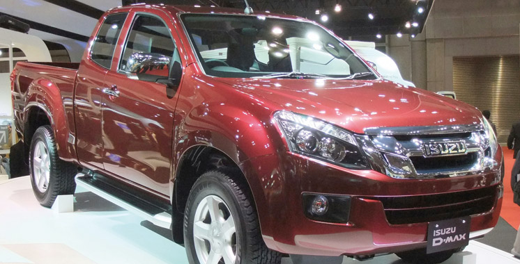 Isuzu: Le pick-up D-Max fait son come-back au Maroc!