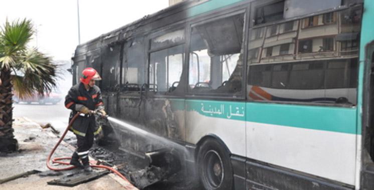 Incendie d'un autobus à Casablanca : Aucune victime