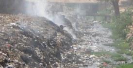 Nuage de fumée noire sur la ville verte de Bouskoura: La décharge de Médiouna dérange !