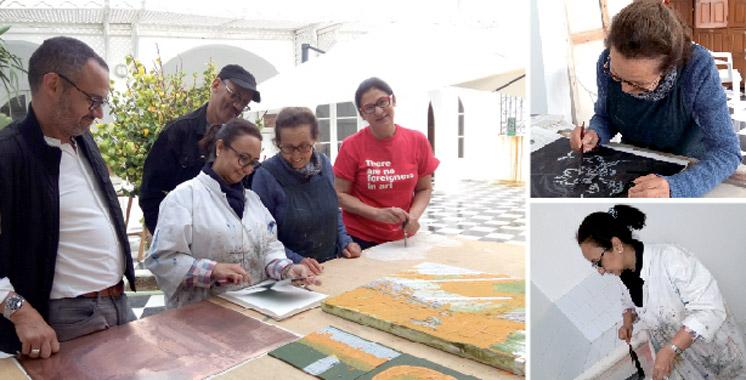 Les Printemps d'Asilah: Huit artistes-peintres réunis pour la première édition