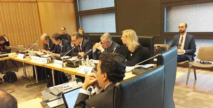 Boussaid au séminaire sur l'architecture financière internationale à Paris