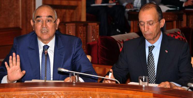 Hassad et Hammouchi en visite de travail à Bruxelles