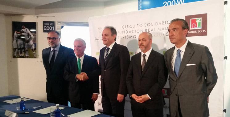 Le real madrid et l office marocain du tourisme signent un partenariat aujourd 39 hui le maroc - Office de tourisme madrid ...