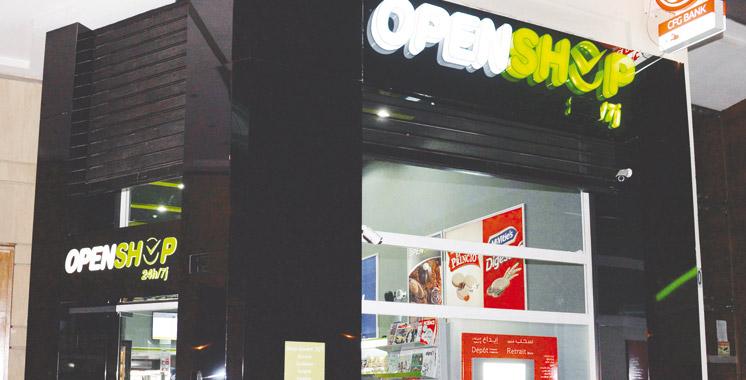 Un 1er magasin «Openshop»  à Casablanca