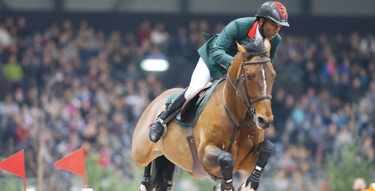 Grand Prix CHIO Rotterdam 2016: Abdelkebir Ouaddar 2e