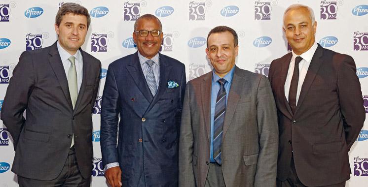 Pfizer Maroc célèbre son 30ème anniversaire