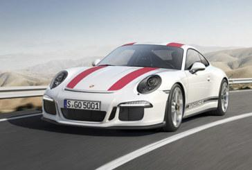 Porsche 911 R: Débauche de puissance!