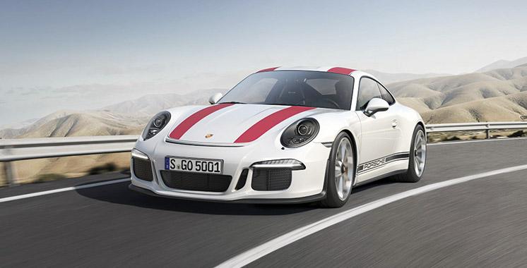 Nouvelle Porsche 911 Carrera: La star !