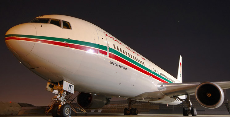 Un Boeing 767-300 de la RAM s'est posé jeudi à l'aéroport de Nairobi