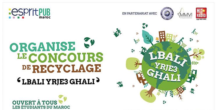 Recyclage : Al bali yerje3 ghali, avis aux étudiants engagés !