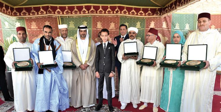 SAR-le-Prince-Heritier-Moulay-El-Hassan-et-Aziz-Akhannouch-SIAM-1