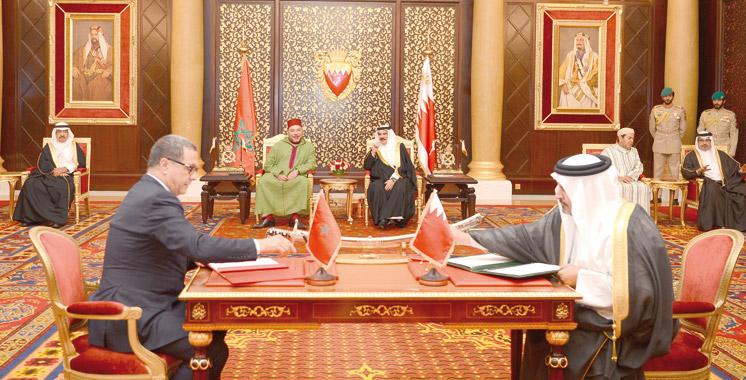 Maroc-Bahreïn: Trois conventions pour consolider la coopération bilatérale