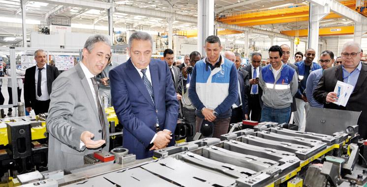 L'emboutisseur SNOP agrandit son usine à Tanger