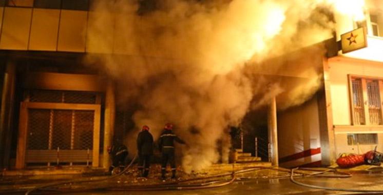Incendie au siège de la télévision marocaine: aucun blessé