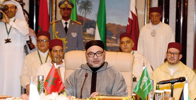 Sa Majesté le Roi a prononcé un discours fondateur au Sommet Maroc-CCG: Mohammed VI contre l'injustice mondiale