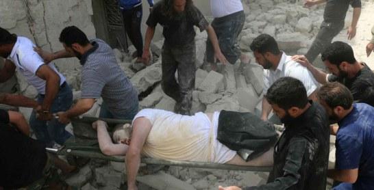 Syrie: 20 civils tués dans le bombardement d'un hôpital et d'un immeuble à Alep