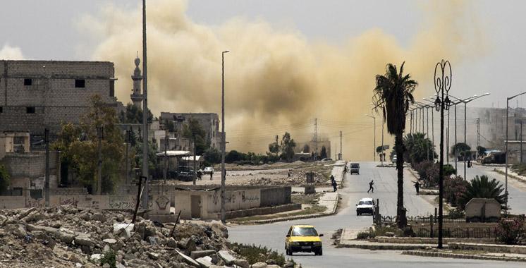 Syrie: 60 morts en 3 jours de combats